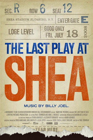 "Poster art for ""Last Play at Shea"""