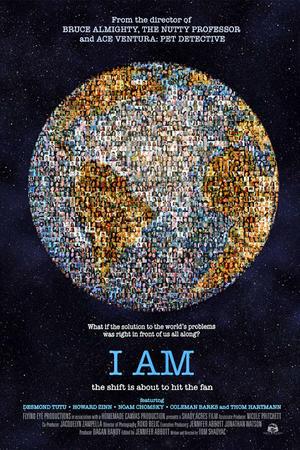 "Poster art for ""I Am."""