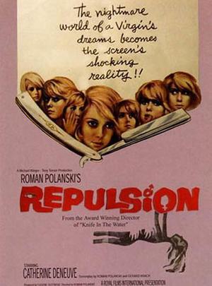 "Poster art for ""Repulsion/Rosemary's Baby"""