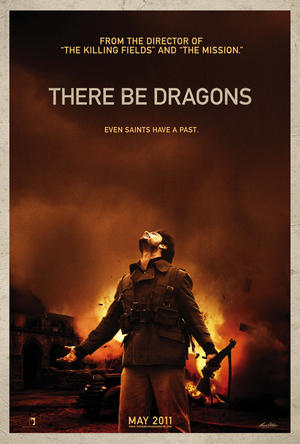 """Poster art for """"There Be Dragons."""""""