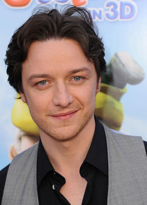 """James McAvoy at the California premiere of """"Gnomeo And Juliet."""""""