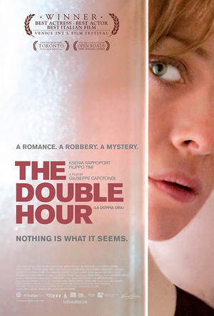 """Poster art for """"The Double Hour."""""""