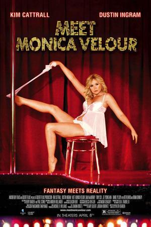 """Poster art for """"Meet Monica Velour."""""""