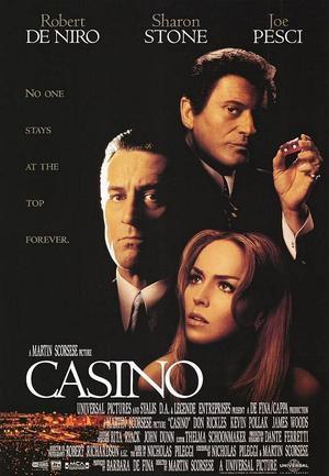 """Poster art for """"Casino."""""""