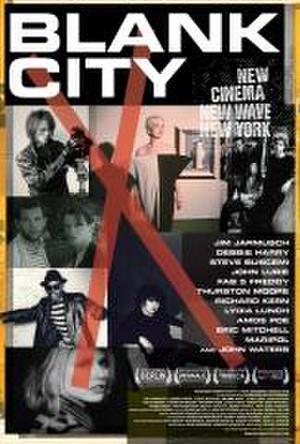 """Poster art for """"Blank City."""""""