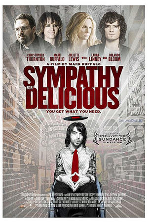 """Poster art for """"Sympathy for Delicious."""""""