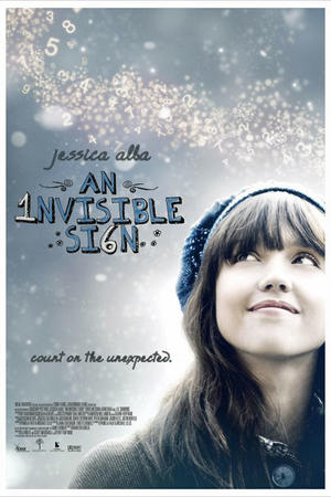 "Poster art for ""An Invisible Sign."""