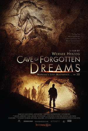 """Poster art for """"Cave of Forgotten Dreams."""""""
