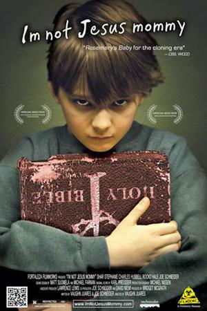 """Poster art for """"I'm Not Jesus Mommy."""""""