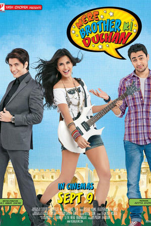 "Poster art for ""Mere Brother Ki Dulhan."""