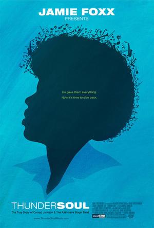 """Poster art for """"Thunder Soul."""""""