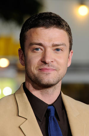 """Justin Timberlake at the California premiere of """"In Time."""""""