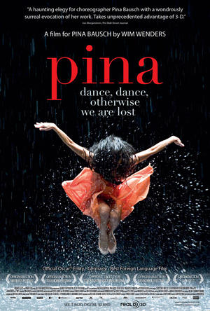 "Poster art for ""Pina."""