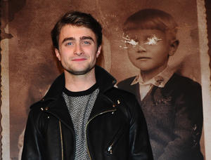 "Daniel Radcliffe at the California premiere of ""The Woman in Black."""