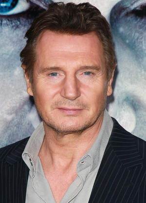 """Liam Neeson at the California premiere of """"The Grey."""""""