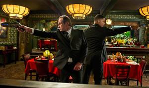 "Tommy Lee Jones and Will Smith in ""Men in Black III."""