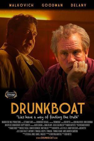 """Poster art for """"Drunkboat."""""""