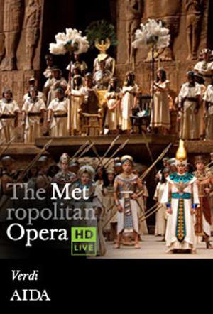 "Poster art for ""The Metropolitan Opera: Aida."""