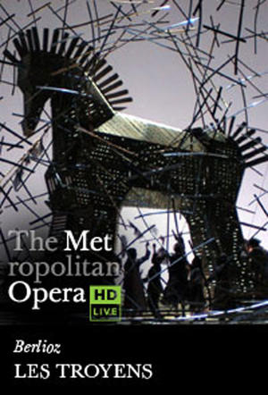 "Poster art for ""The Metropolitan Opera: Les Troyens."""