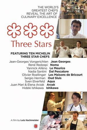 "Poster art for ""Three Stars."""