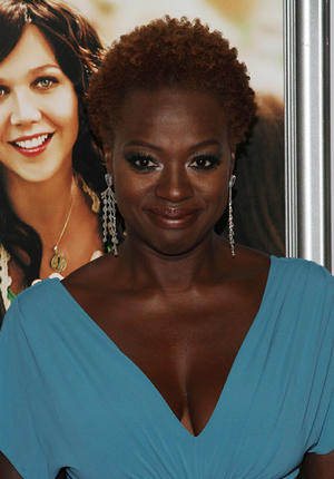 "Viola Davis at the New York premiere of "" Won't Back Down."""