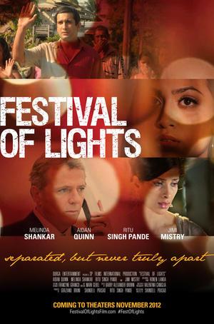 """Poster art for """"Festival of Lights."""""""