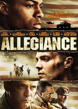 """Poster art for """"Allegiance."""""""