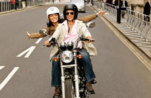 """Anushka Sharma and Shah Rukh Khan in """"Jab Tak Hai Jaan."""""""