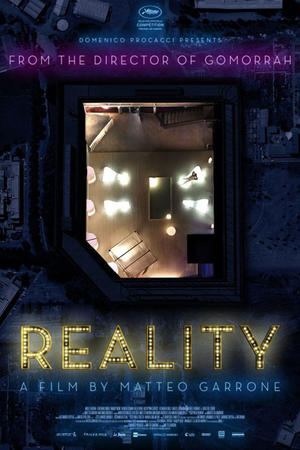 """Poster art for """"Reality."""""""