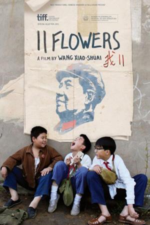 """Poster art for """"11 Flowers."""""""
