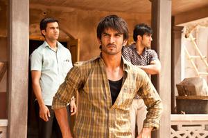 "Raj Kumar Yadav as Govind, Sushant Singh Rajput as Ishaan and Amit Sadh as Omi in ""Kai Po Che."""