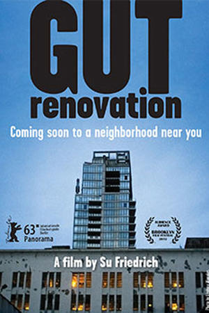 "Poster art for ""Gut Renovation."""
