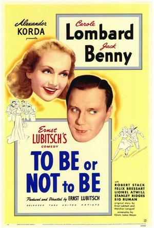"""Poster art for """"To Be or Not To Be."""""""