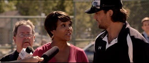 "Vivica A. Fox and Scott Elrod in ""Home Run."""