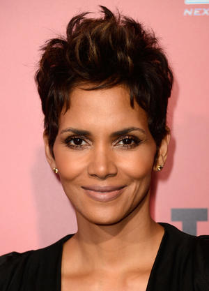 "Halle Berry at the California premiere of ""The Call."""