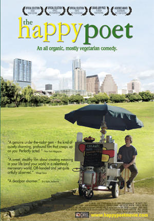 """Poster art for """"The Happy Poet"""""""
