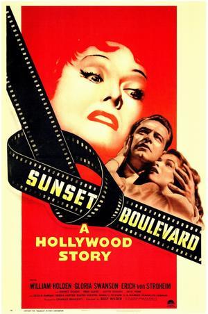 """Poster art for """"Sunset Boulevard."""""""