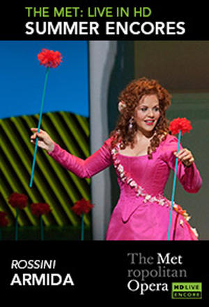 "Poster art for ""Armida Met Summer Encore."""