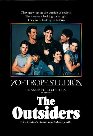 """Poster art for """"The Outsiders."""""""