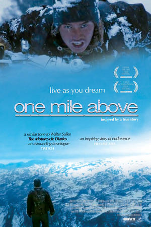 "Poster art for ""One Mile Above."""