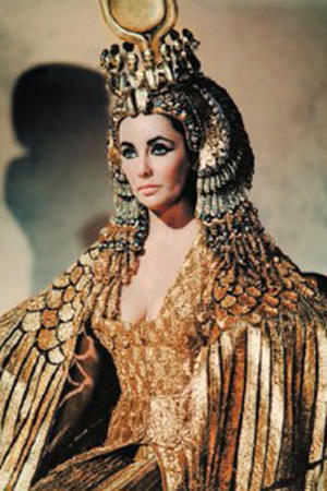 "Poster art for ""Cleopatra."""
