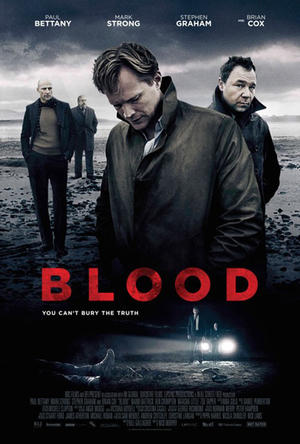 "Poster art for ""Blood."""