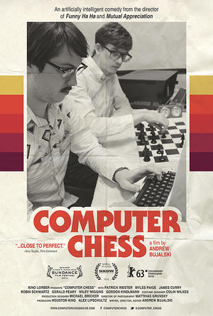 """Poster art for """"Computer Chess."""""""