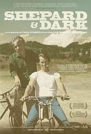 """Poster art for """"Shepard & Dark."""""""