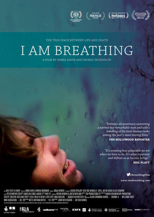 "Poster art for ""I Am Breathing."""