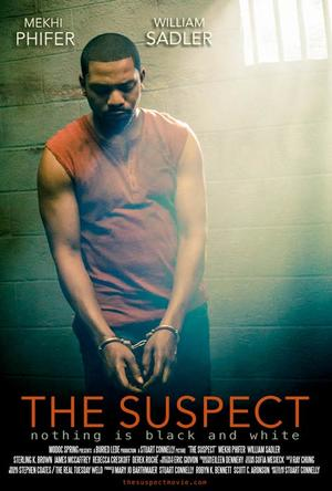 "Poster art for ""The Suspect."""
