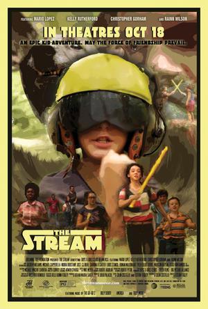 "Poster art for ""The Stream."""