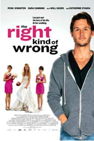 "Poster art for ""The Right Kind of Wrong."""