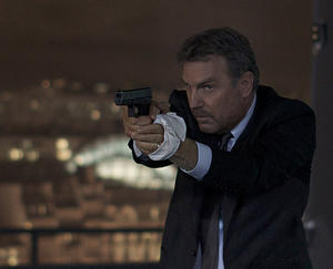 """Kevin Costner in """"3 Days to Kill."""""""