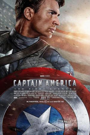 """Poster art for """"Captain America"""""""